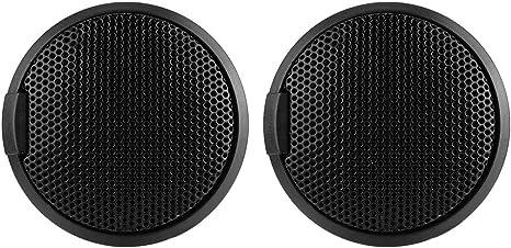 Ebtools Schwarz 20w Mini Autolautsprecher Audio 20w Runder Klebbarer Lautsprecher Autolautsprecher Mit Kleber Auto