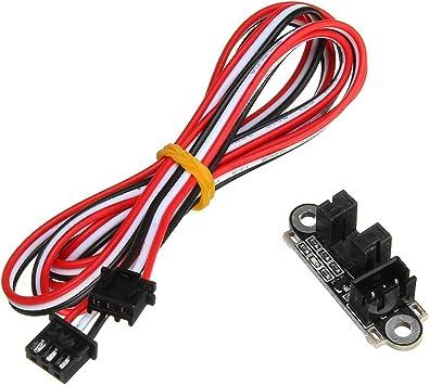 ILS - Sensor Interruptor límite Final Carrera óptico con 1M 3 ...