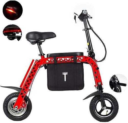 PXQ Mix Bicicleta eléctrica Plegable con Asiento para niños y ...