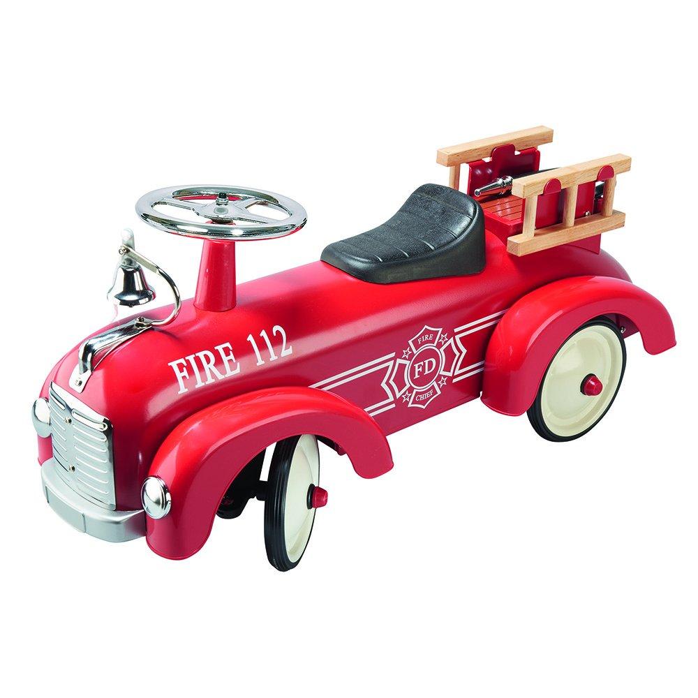 Cavalcabile macchina dei pompieri Goki Ride-On