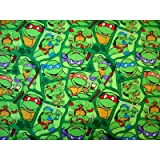 SheetWorld Fitted Cradle Sheet - Ninja Turtles - Made In USA