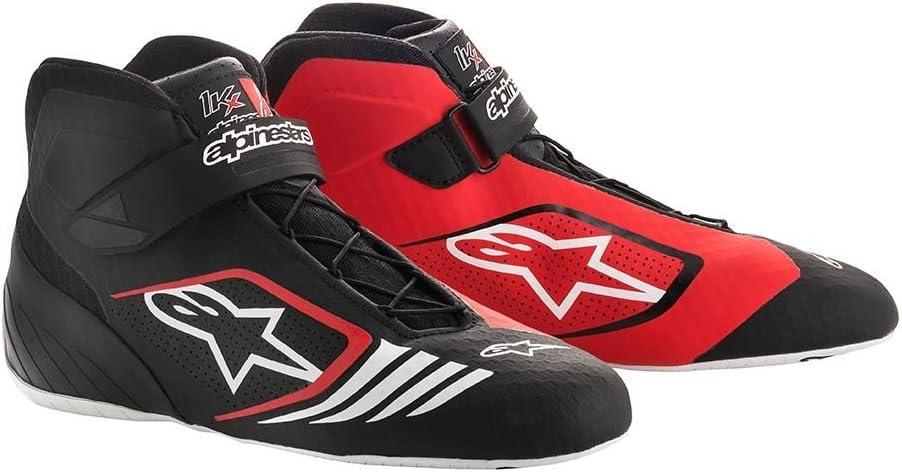 Black//White Alpinestars 2712118-12B-5 Tech 1-KX Shoes Size 5