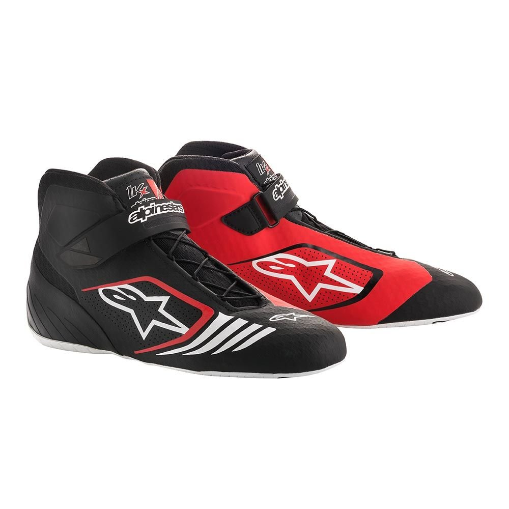 Blue//White//Orange Fluorescent Size 10.5 Alpinestars 2712118-7024-10.5 Tech 1-KX Shoes