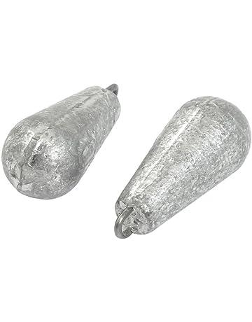 Plomada - SODIAL(R) Disparo de cebo de sedal Plomada de peso plomo en