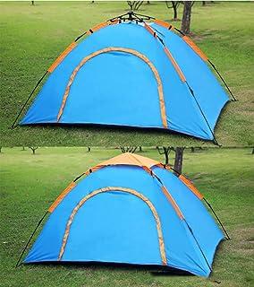 WDDP Tenda Portatile Istantanea Automatica della Tenda della Tenda di Pop-up con Protezione UV della Borsa Adatta A Giardino Familiare/Campeggio/Pesca/Spiaggia,Blue