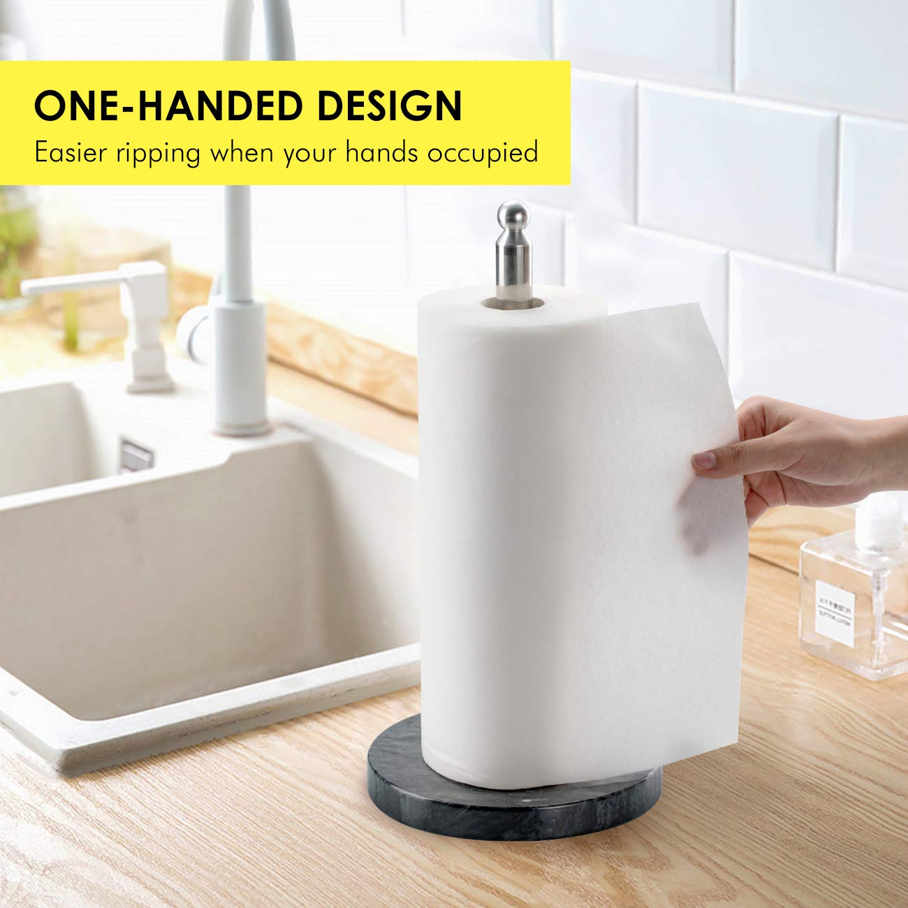 Kitchen Living Room Portable Paper Storage Box Bathroom Paper Towel Holder