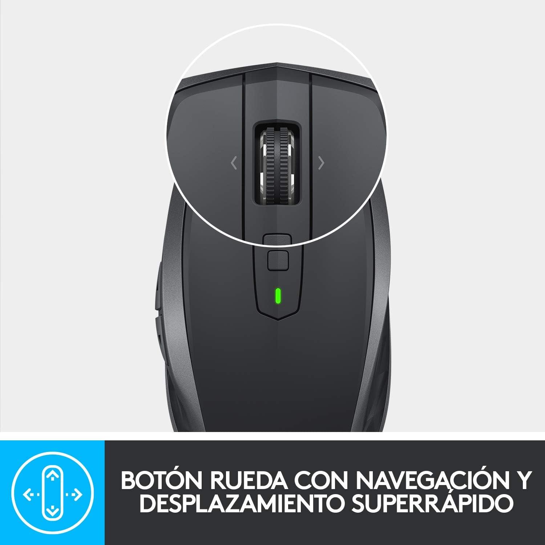 Logitech MX Anywhere 2S Ratón Inalámbrico, Multi-Ordenadores, 2,4 ...