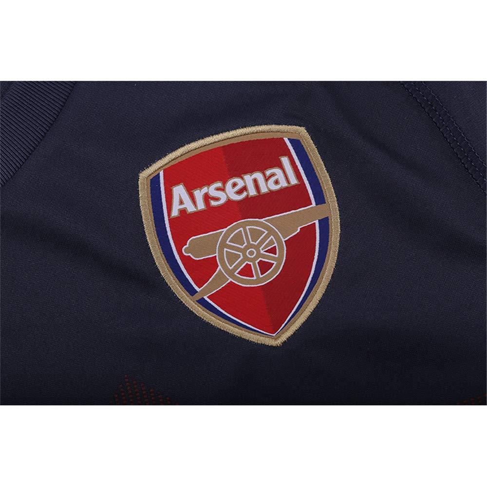 Camiseta de F/útbol de la UEFA y Shorts Equipo de la Camiseta de F/útbol Personalizado Cualquier Nombre + N/úmero para Ni/ños J/óvenes Adultos VVANESSAA Nueva Temporada 2018-2019 Local y Visitante
