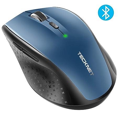 TECKNET Bluetooth Wireless Mouse  BM308   Blue  Keyboards, Mice   Input Devices
