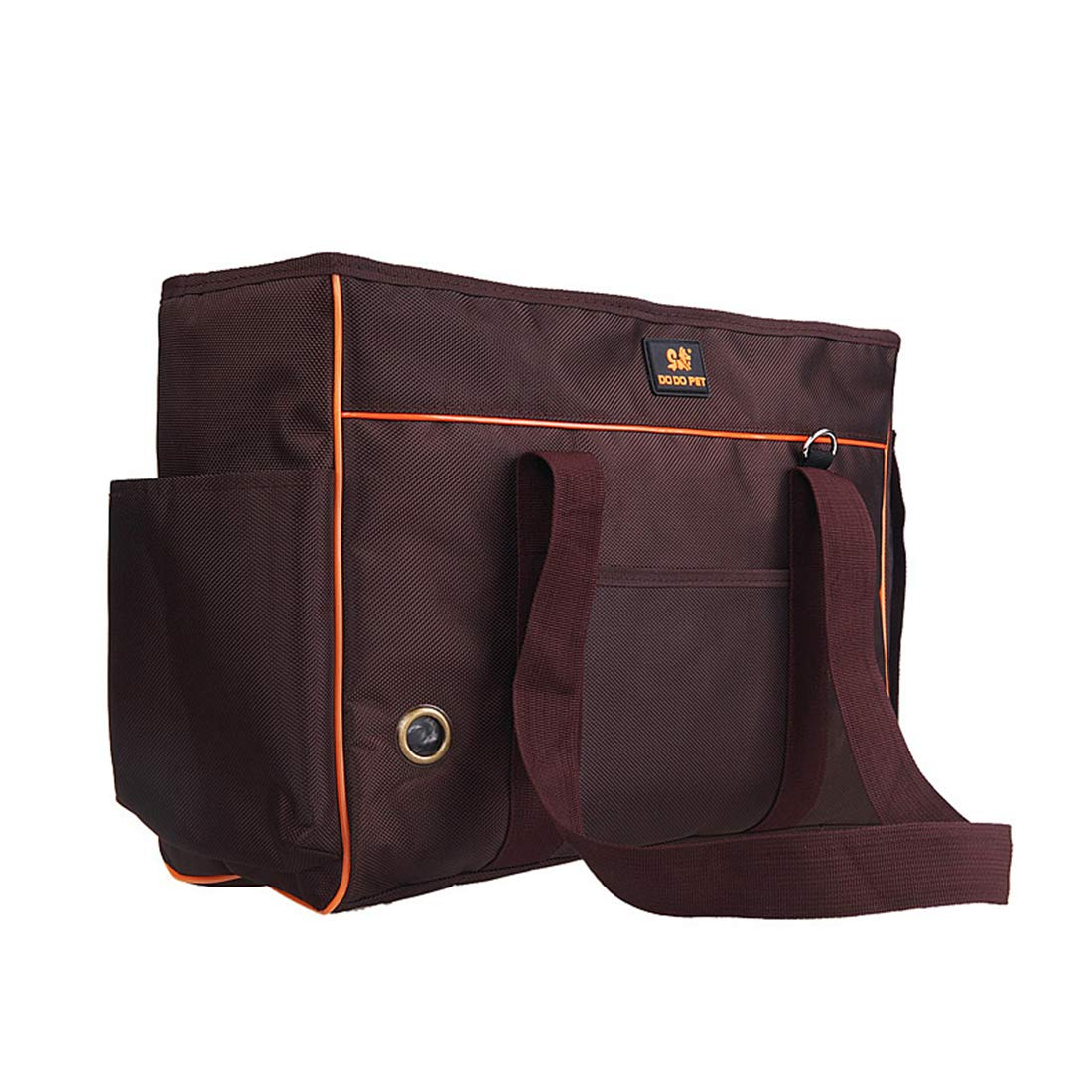 Brown S(upto3.5kg) Brown S(upto3.5kg) Pet Handbag Soft Sided Carrier Carrying Bag Dog Cat Messenger Bag Oxford Cloth