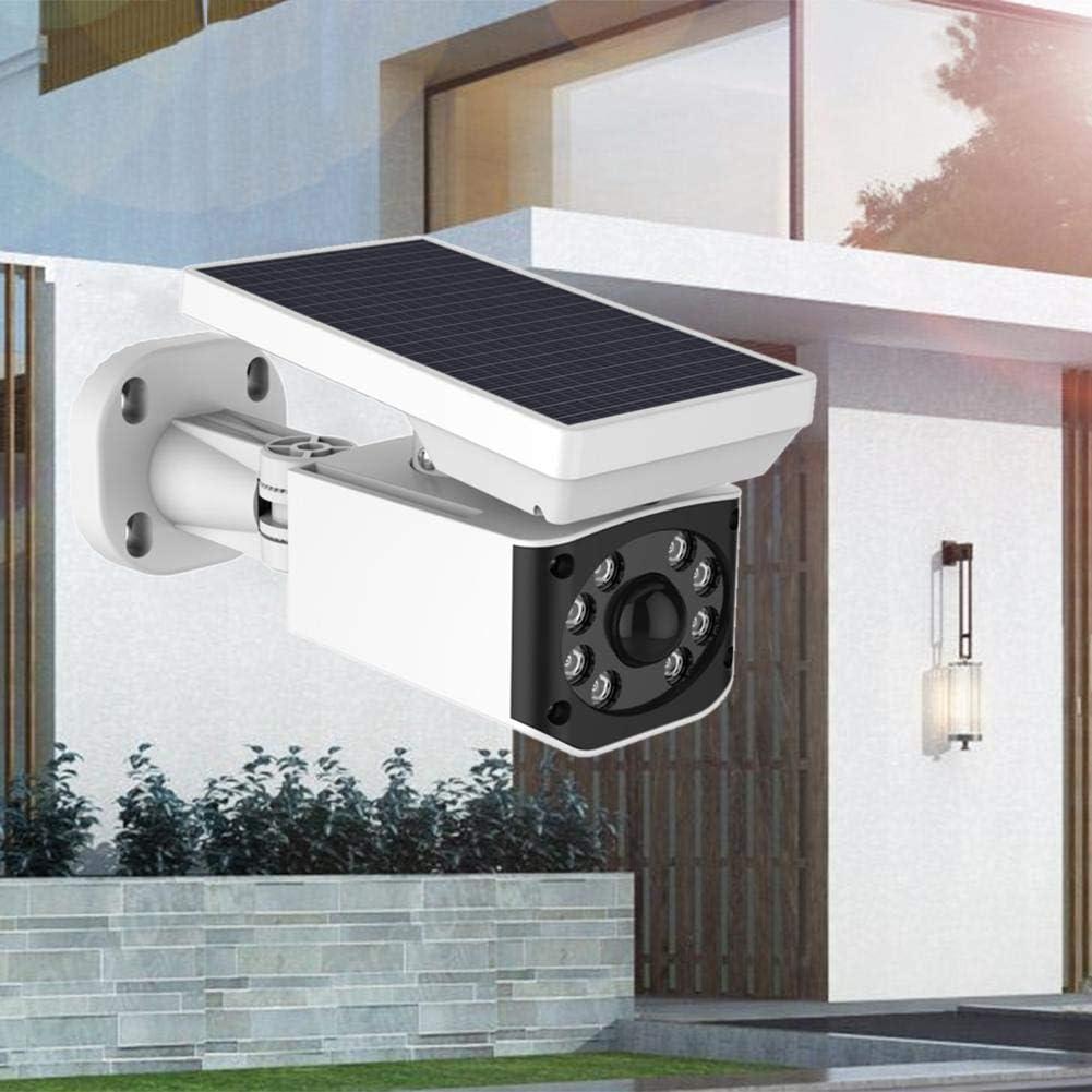 certainoly Algoly - Pistola Solar Falsa para cámara Humana PIR de inducción Solar integrada alimentaria, batería de vigilancia LED: Amazon.es: Hogar