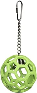 JW Pet Activitoys HOL-ee Roller Bird Toy (Color May Vary)