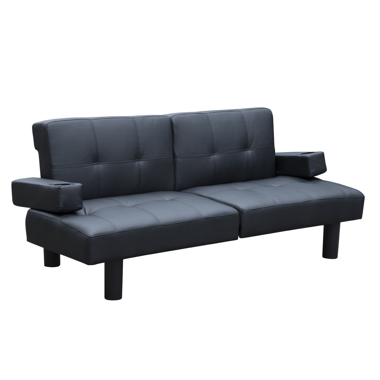 HomCom 72 Two-in-One Modern Sleeper Sofa