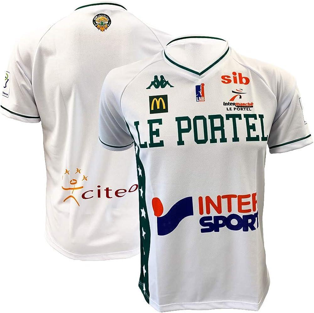 ESSM Le Portel - Camiseta de Baloncesto Oficial para niño 2018-2019: Amazon.es: Ropa y accesorios