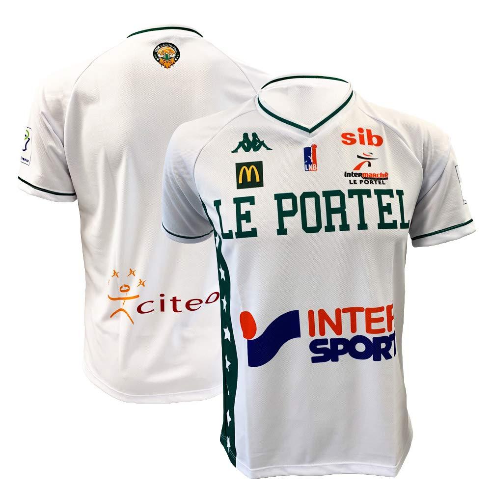 ESSM Le Portel - Camiseta Oficial de Baloncesto 2018-2019, Unisex ...