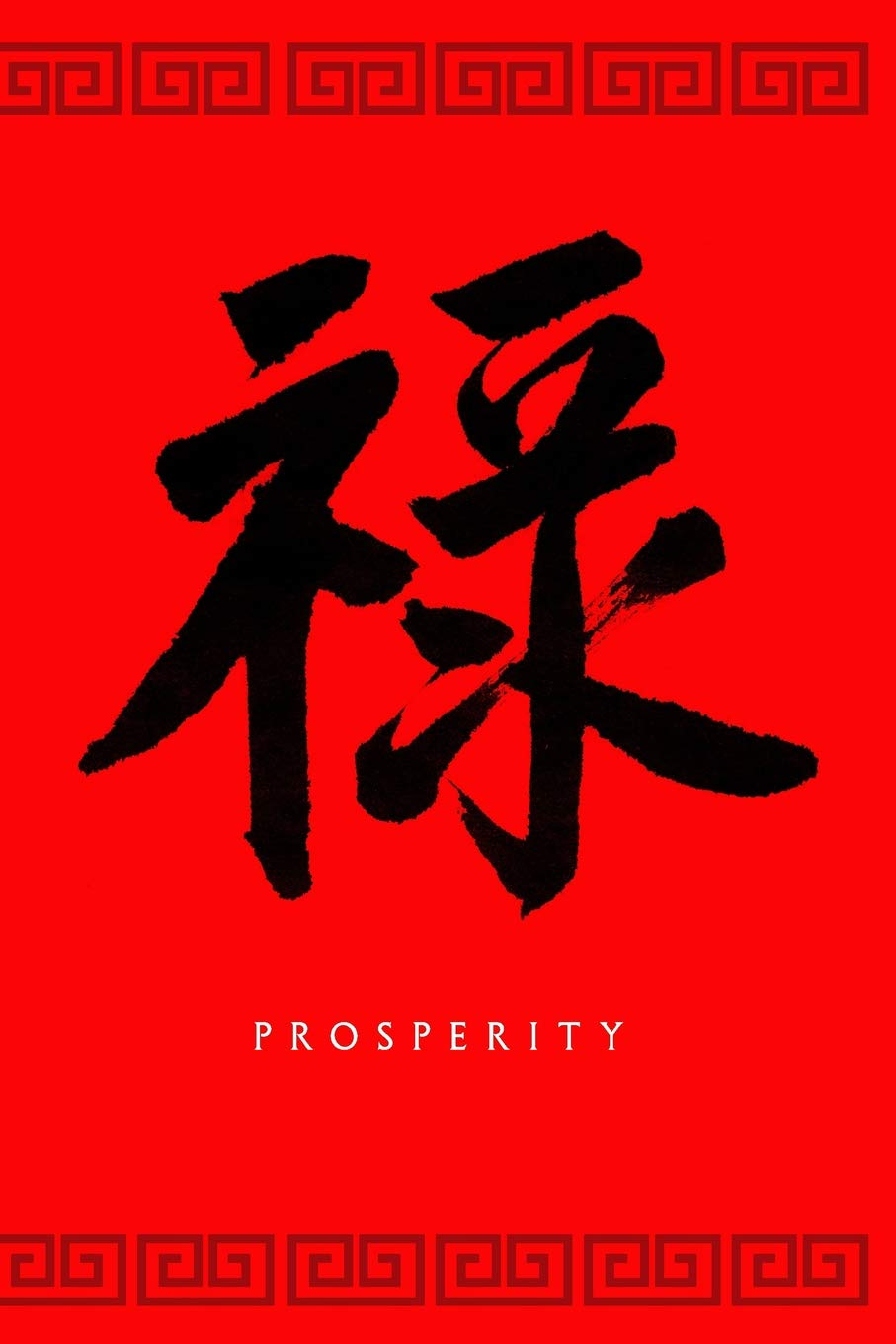 Prosperity A Journal With A Chinese Character Meaning Prosperity