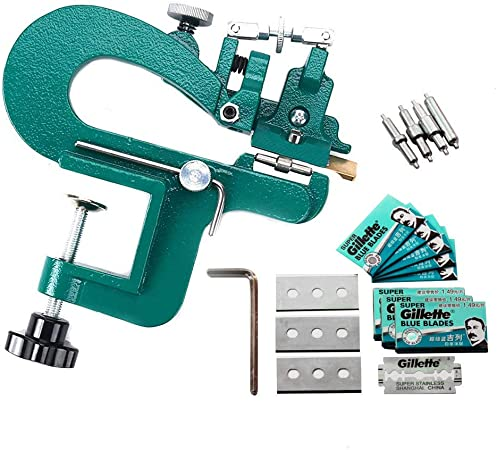 Manual Paring Peeling Machine Leather Splitter Skiver Shovel Skin Machine UK