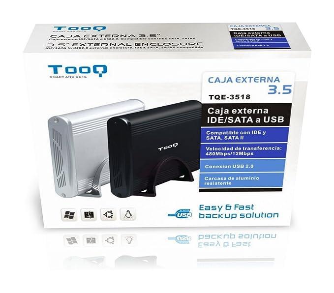 Amazon.com: Tooq - Caja Externa HDD 3,534; IDE/SATA a USB ...
