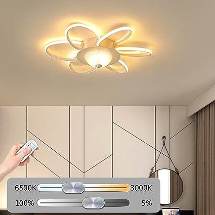 Luz De Techo LED Regulable Lámpara De Techo Sala Creatividad ...