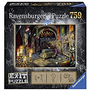 Ravensburger Castello Del Vampiro Puzzle 759 Pezzi 19955