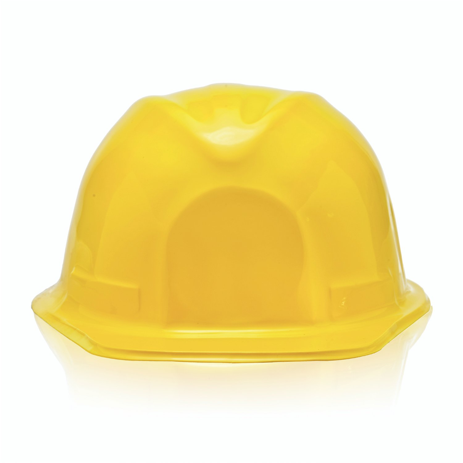 Bottles N Bags 24 Pack of Child Size Plastic Yellow Construction Hats for Young Builders by by Bottles N Bags (Image #6)