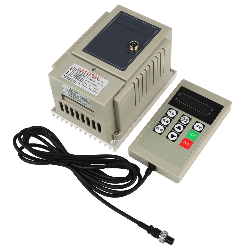 Frequency Inverter, 220V 0.75KW 4A Single Phase Variable Speed Motor Drive