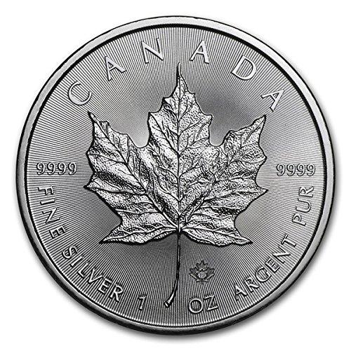 2018 CA Canada Silver Maple Leaf (1 oz) $5 Brilliant Uncirculated Royal Canadian Mint