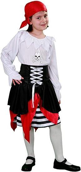 Disfrazzes - Disfraz de joven pirata de 7 a 9 años para niñas ...