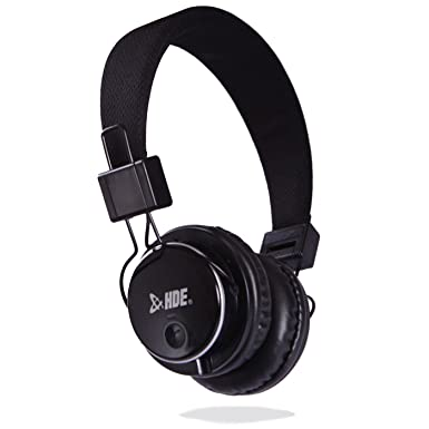HDE BT-900 On-Ear auriculares Bluetooth inalámbrico + Wired plegable auriculares estéreo - micrófono incorporado para llamadas con manos libres: Amazon.es: ...