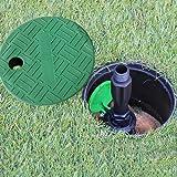"Leader_Pneumatic Valve Box Cover 6"" Round Sprinkler System Irrigation Circular Valve Box,2 Pack"