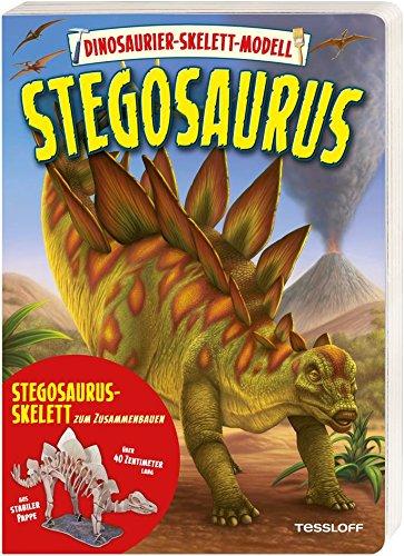 Dinosaurier-Skelett-Modell. Stegosaurus: Spielen, lernen, wissen