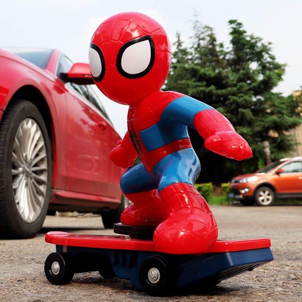 WXFQX Spiderman Jouet Voiture t/él/écommand/ée Spinning Racing Boy Toy Cadeau Voiture Cadeaux pour Les Enfants