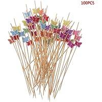 Guoyy 100pcs 12cm Comida de Mariposa de elección
