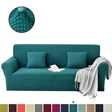 Cool Amazon Com Couturebridal Sofa And Loveseat Covers Set Teal Inzonedesignstudio Interior Chair Design Inzonedesignstudiocom