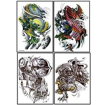 Último diseño de Nueva y caliente venta realista tatuaje pegatinas ...