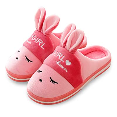 Women's Comfort Memory Foam Slippers Cute Bunny Slip on Home Shoes Indoor Outdoor House Slippers w/Anti Slip Sole | Slippers