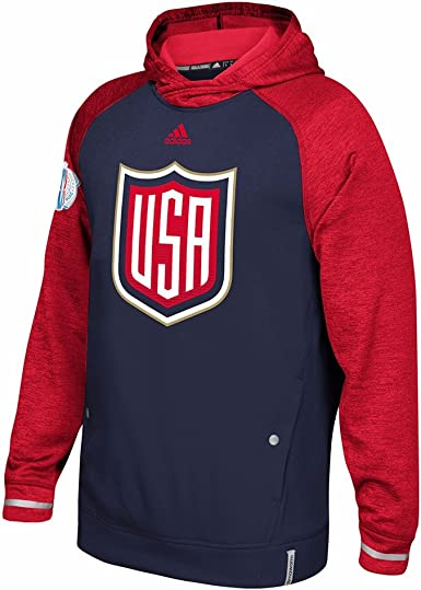 Man Usa Hockey Logo Hoodie