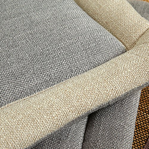Flameer Various Soft Warm Dining Chair Cushion Seat Mat Chair Pad Home Decor Floor Cushions Minimalist Style Home Decoration - Gray, 45cm