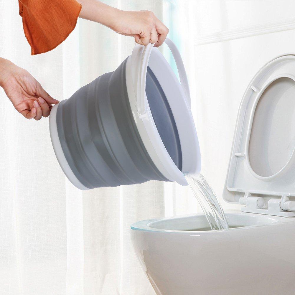 Bekith Plegable Agua Potable Dep/ósito 4 x 10 L