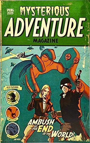 2009 - Plan B Comics - Mysterious Adventure Magazine - Comic Book - New - Collectible