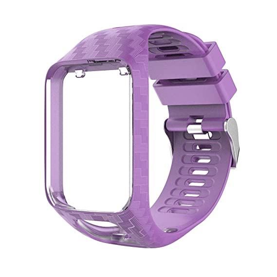 Amazon.com: Tomtom Watch Strap, Soft Silicone Replacement ...