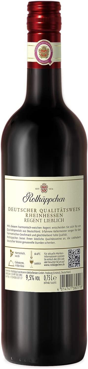 Rotkäppchen Wein Regent Lieblich (6 x 0.75 l):