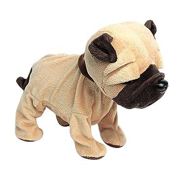 Juguetes educativos,Internet Adorables perros electrónicos mascotas control de sonido interactivo robot juguetes regalos electrónica