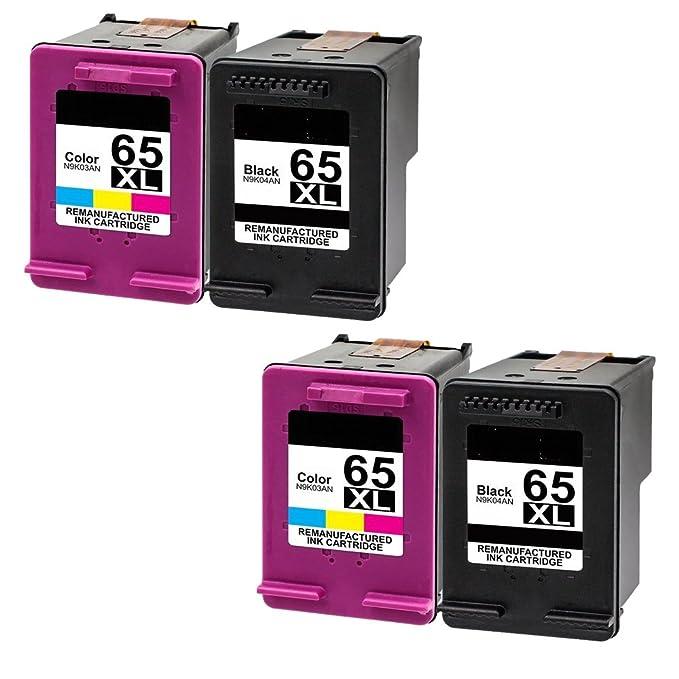 Amazon.com: Ouguan Ink for HP Deskjet 3755,65XL,65 XL ...