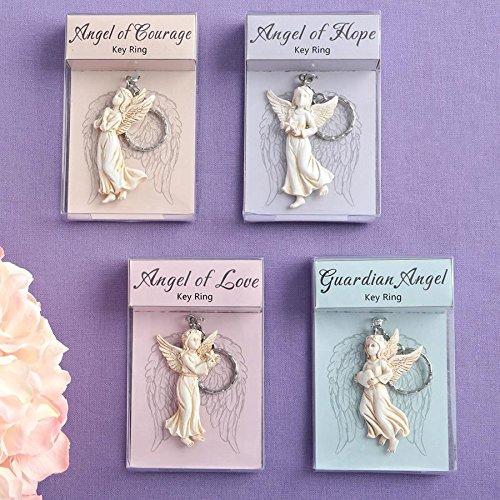 Graceful Guardian Angel Keychain from gifts by Fashioncraft 48PK