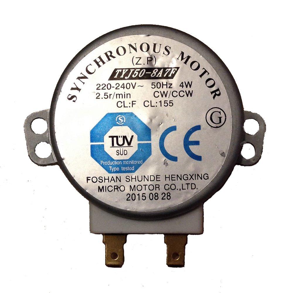 Microondas giradiscos Motor sincronizado de repuesto TYJ50 ...