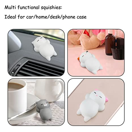 Amazon.com: Muñecos de animalitos de silicona, 4 ...