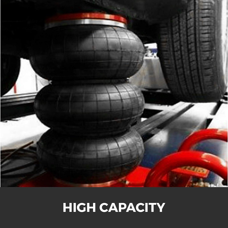 VEVOR Pneumatic Car Jack 3 Ton Triple Bag Air Pneumatic Jack Lifting Height 16 Inch Inflatable Car Jack Lifter Pneumatic Air Jack 6600 lbs Release Quickly Lift Jacking