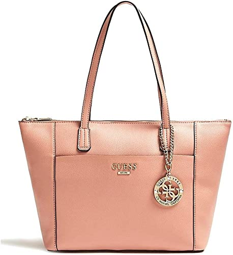 Guess Alma Tote Schultertasche Bag ROSEWOOD: