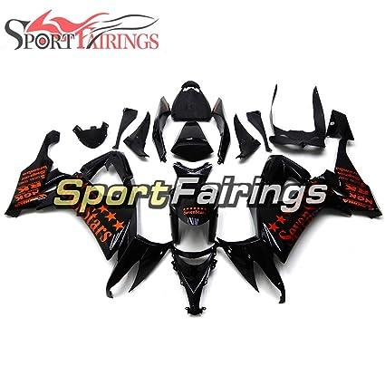 Amazoncom Sportfairings Full Fairing Kit For Kawasaki Zx10r Zx 10r
